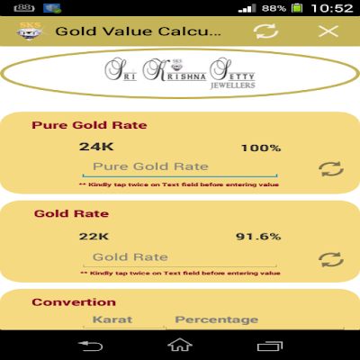 Gold Value Calculator