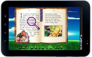 Screenshot of Garfield's BooClips LITE