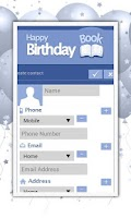 Screenshot of Baby & Kids Birthday Planner