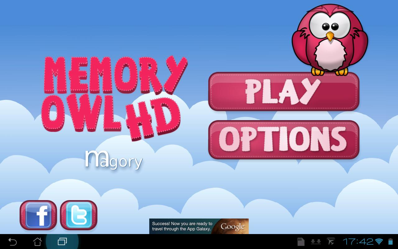 Memory Owl HD - screenshot