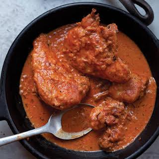 Chicken Paprikash.