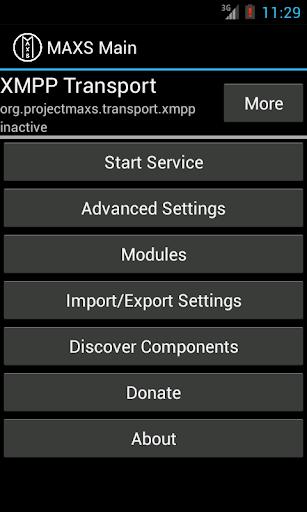 MAXS Transport XMPP