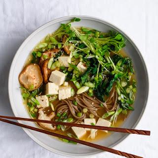 Ginger Miso Soba Soup