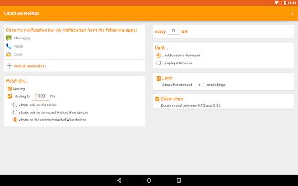Vibration Notifier Screenshot 3