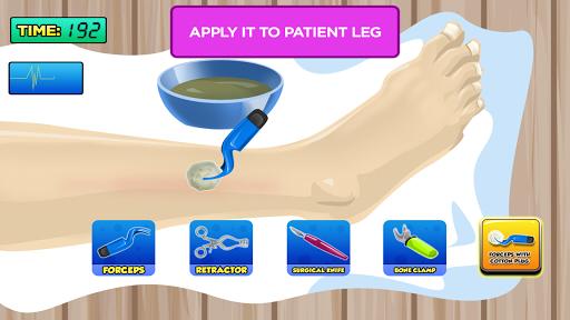 【免費休閒App】Juego de operar pierna-APP點子