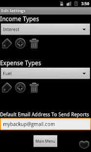 Easy Expense Finance Manager - screenshot thumbnail