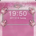 GO Locker Pink Roses Theme logo