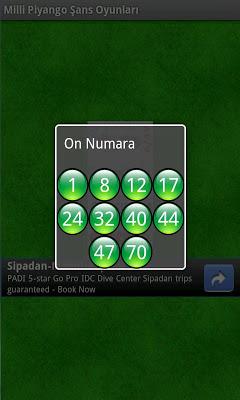 Milli Piyango Şans Oyunları - screenshot