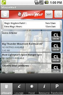 Disney World MouseWait FREE - screenshot thumbnail