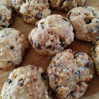 Skinny Oatmeal Chocolate Chip Coconut Cookies (clean Eats/vegan).