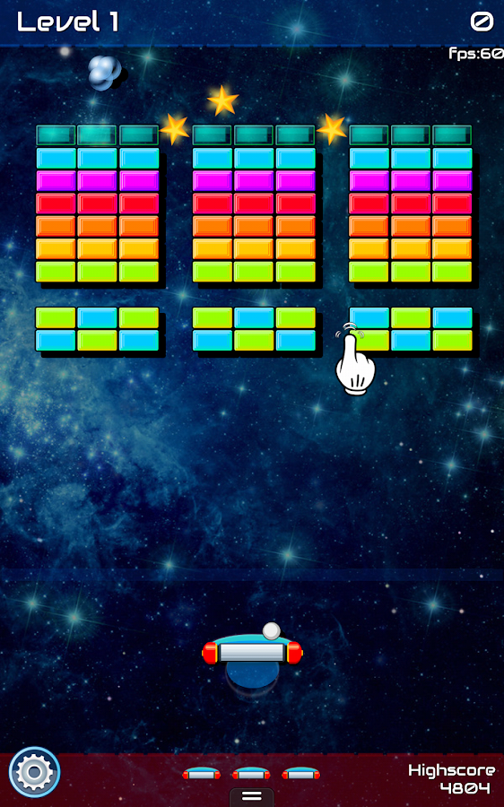 BRIK Brick Breaker- screenshot