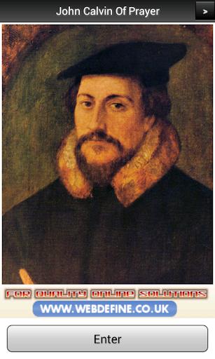 John Calvin Of Prayer FREE