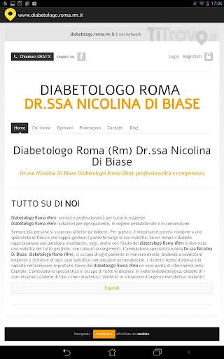 Diabetologo Roma RM