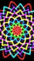 Screenshot of Glow Spin Art