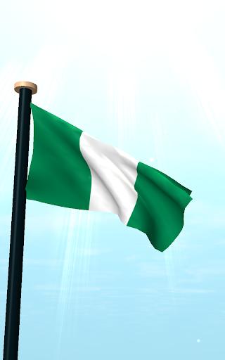 玩免費個人化APP|下載ナイジェリアフラグ3Dライブ壁紙 app不用錢|硬是要APP