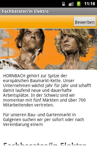 HORNBACH - screenshot