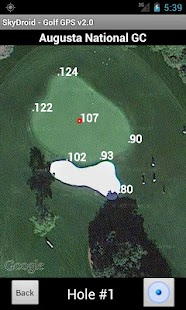 Skydroid - Golf GPS Scorecard- screenshot thumbnail