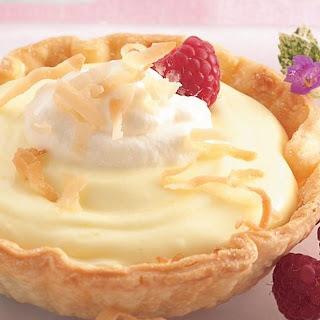 Coconut-Lemon Cream Tartlets