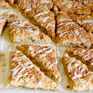 Apple Cinnamon Scones (gluten free)