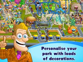 Screenshot of Rollercoaster Mania