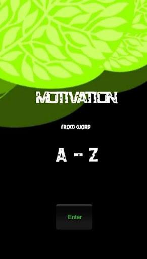 Motivation A-Z