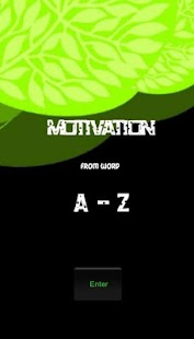 Motivation A-Z- screenshot thumbnail
