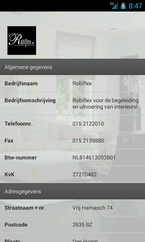 Robiflex - screenshot