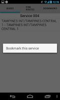 Screenshot of Singapore Bus Guide