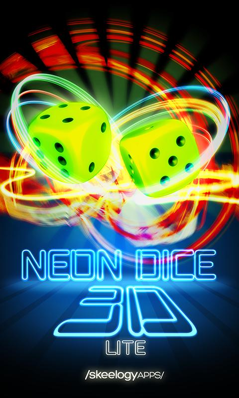 Neon Dice 3D Lite- screenshot