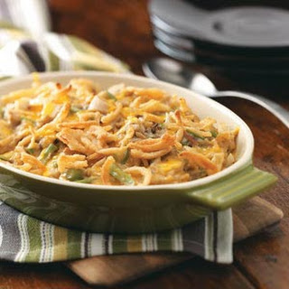 Green Bean Chicken Casserole.