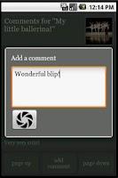 Screenshot of AndroBlip