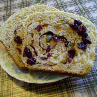 Fruit And Nut Swirl Bread