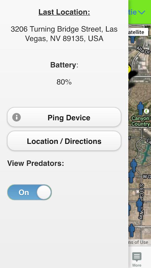 Amber Alert GPS Parent - screenshot