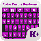 Color Purple Keyboard Theme