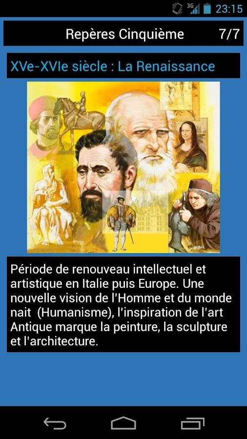 Repères Histoire Brevet - screenshot