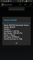 Screenshot of Barometer Free