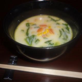 Turnip Milk Miso Soup