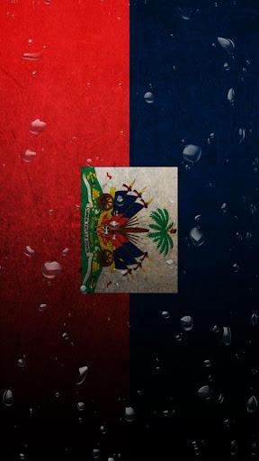 Haiti flag water effect LWP