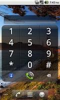 Screenshot of Impact Dialer Widget