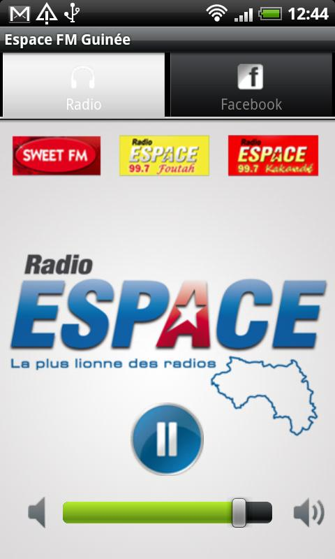ESPACE FM GUINEE - screenshot