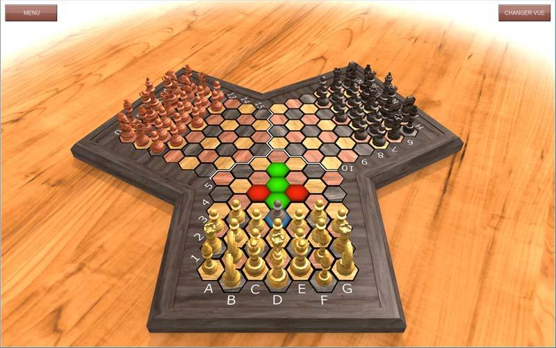 TRIAD-CHESS - screenshot