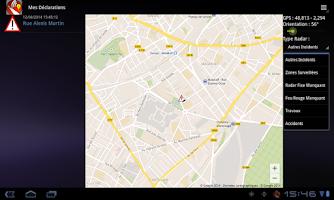 Screenshot of Glob - Traffic Info and Radars