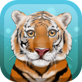 Cute Tiger Live Wallpaper