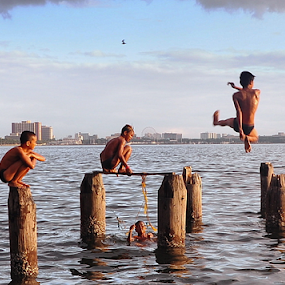 The Joy of Childhood by Joey Tomas - People Street & Candids (  )