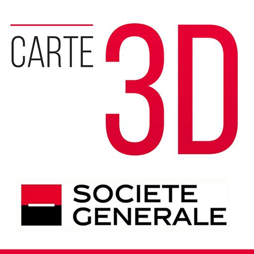 Carte 3D Icon