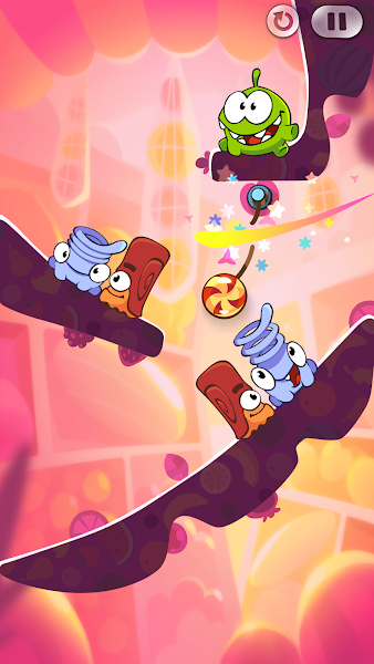 Cut the Rope 2 Mod Apk - Screenshot