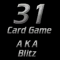 31 Card Game aka Blitz logo