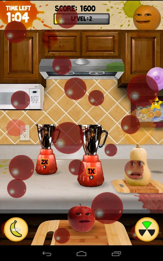 Annoying Orange: Carnage- screenshot