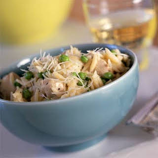 Orzo with Chicken and Asiago.