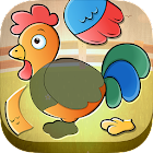 Toddler Kids puzzle - Animals icon